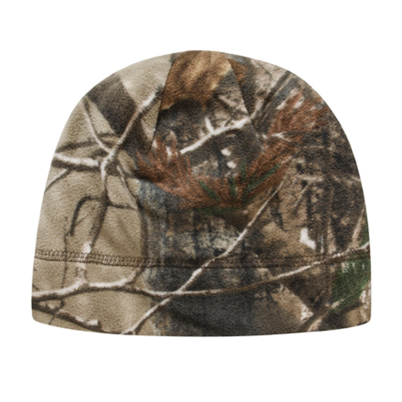 Licensed Camo Fleece Beanie
