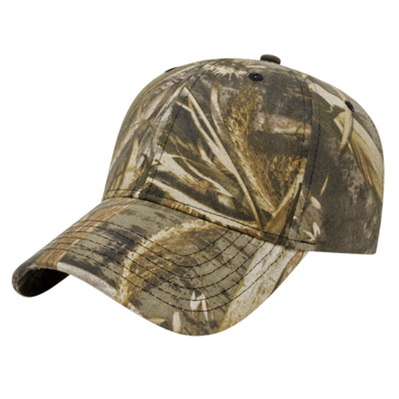 Structured Six Panel Camo Cap