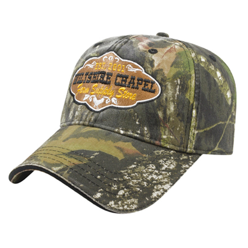 Washed Camo Cap