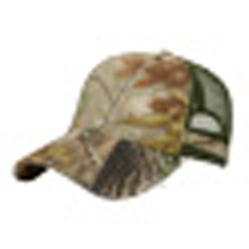 Trendy Heavy Washed Camo Cap