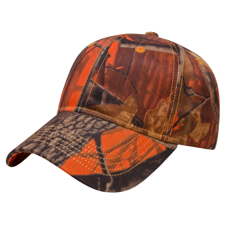 Orange Ridge Camo Cap