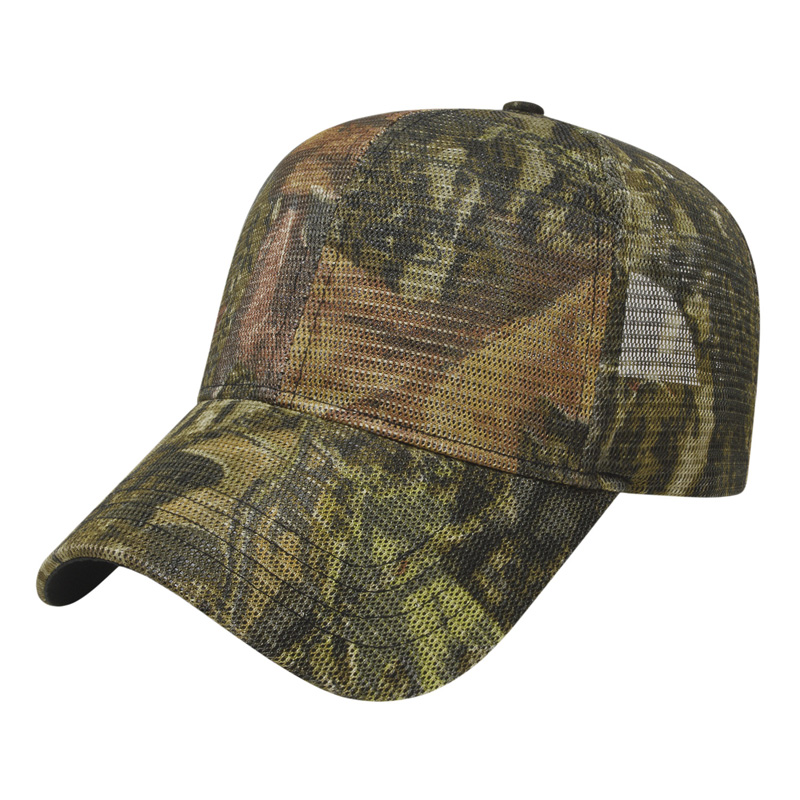 Full Patterned Camo Mesh Cap