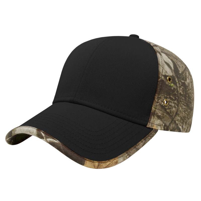 Solid Front Next G2? Camo Back Cap