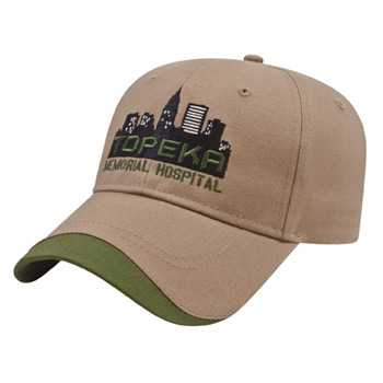 Structured Contrasting Wave Insert Cap